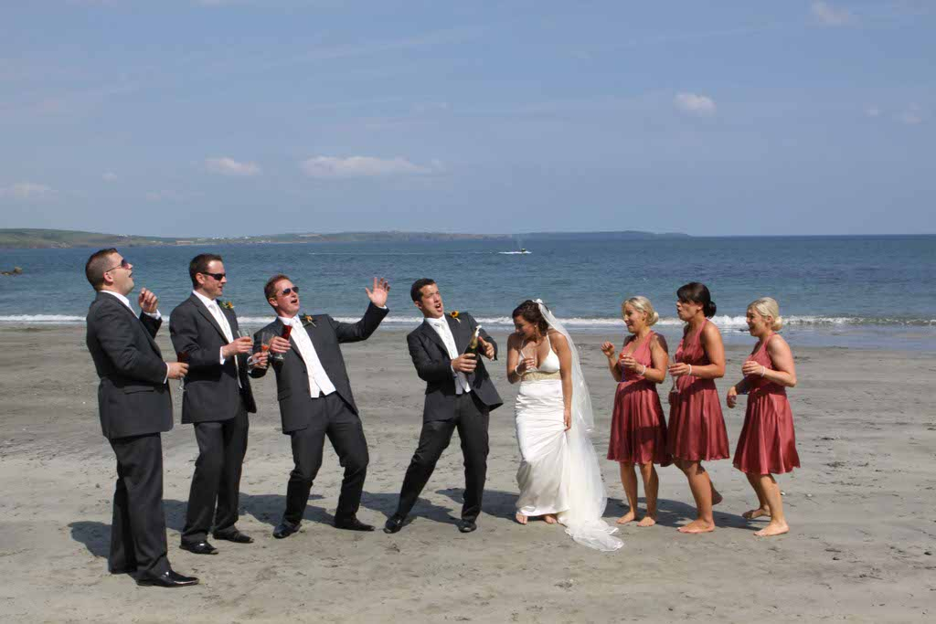 Dunmore House Hotel Wedding Beach